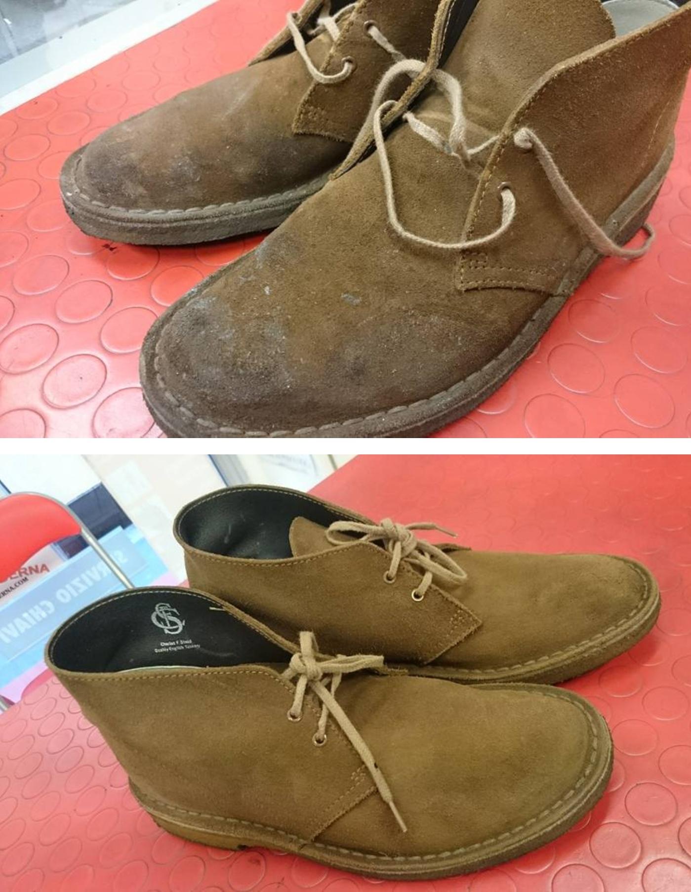 come pulire scarpe scamosciate new balance