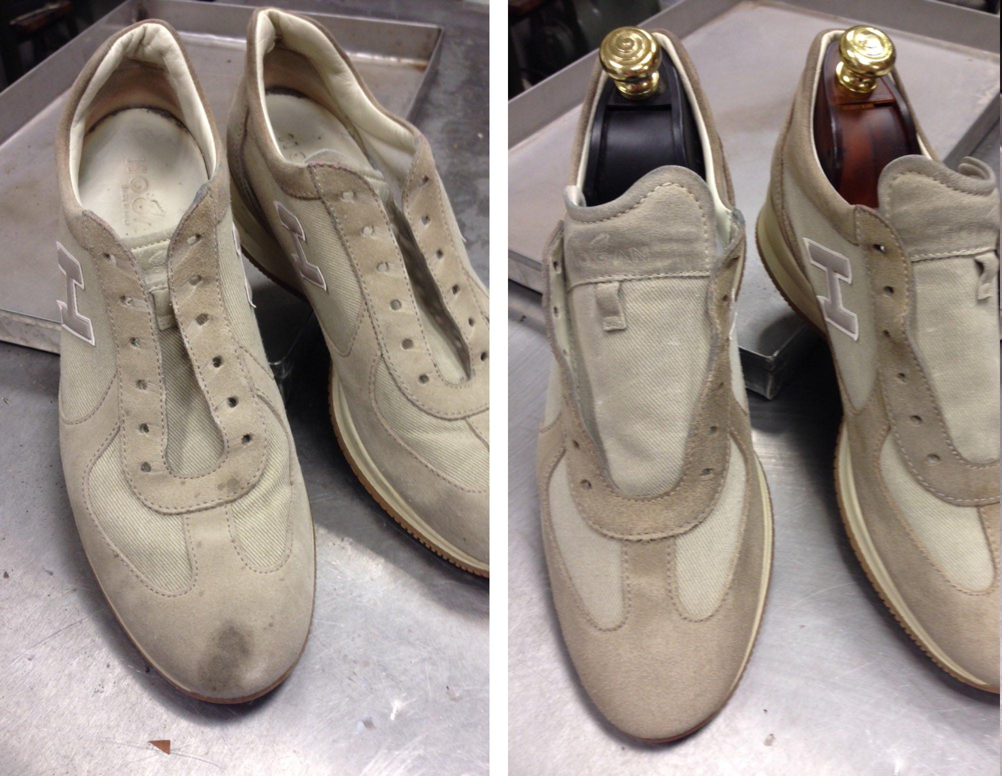 come pulire le scarpe nike di camoscio