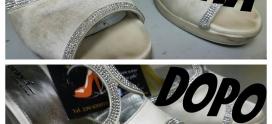 Come pulire le scarpe di raso